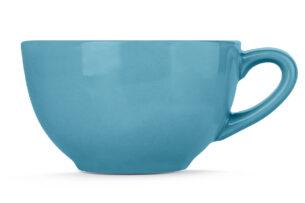 LUPIN, https://konsimo.pl/kolekcja/lupin/ Filiżanka do herbaty turkusowy - zdjęcie