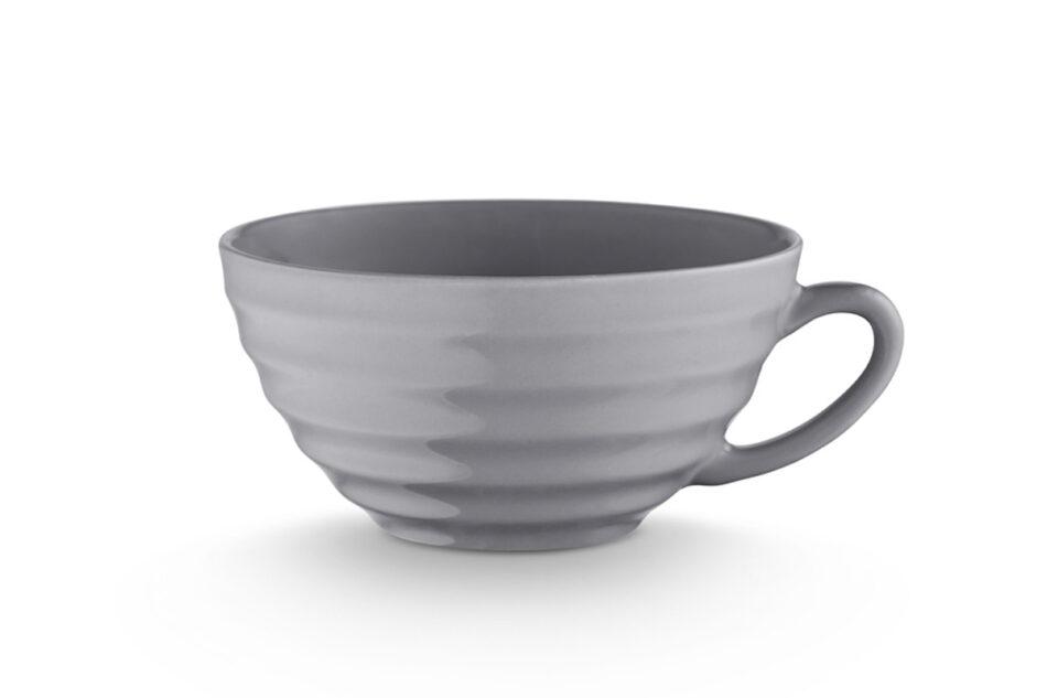SCILLA Zestaw herbaciany dla 4 osób szary szary - zdjęcie 3