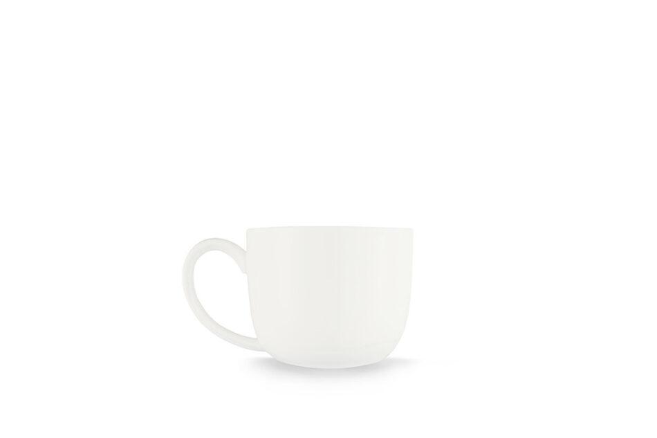 RESEDA Filiżanka do espresso ze spodkiem biały - zdjęcie 2