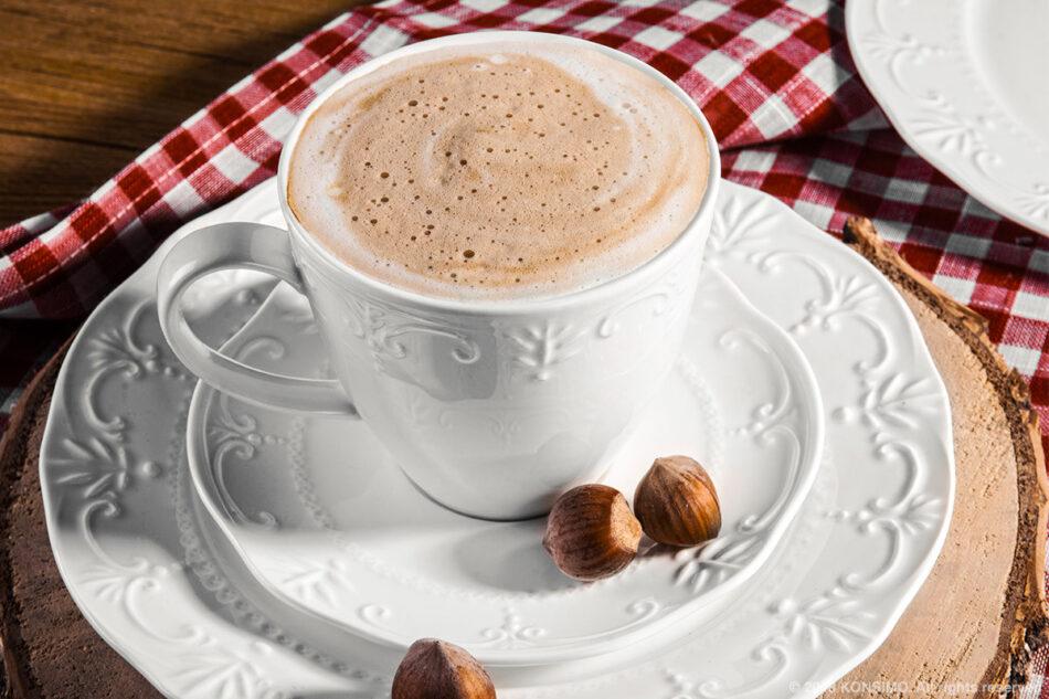 SOLANA Klasyczny zestaw filiżanek do kawy biały 8 elementów dla 4 osób kremowy - zdjęcie 4