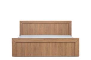 CALDO, https://konsimo.pl/kolekcja/caldo/ Proste łóżko 160 x 200 cm dąb naturalny dąb naturalny - zdjęcie