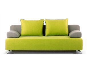MASSIM, https://konsimo.pl/kolekcja/massim/ Sofa 3 zielony/szary - zdjęcie
