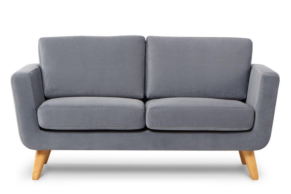 TAGIO Szara skandynawska sofa 2 osobowa szary - zdjęcie 0