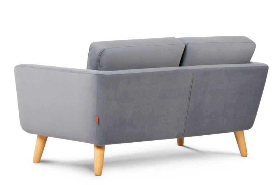 TAGIO Szara skandynawska sofa 2 osobowa szary - zdjęcie 2