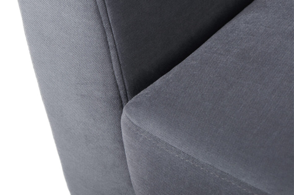 TAGIO Szara skandynawska sofa 2 osobowa szary - zdjęcie 3