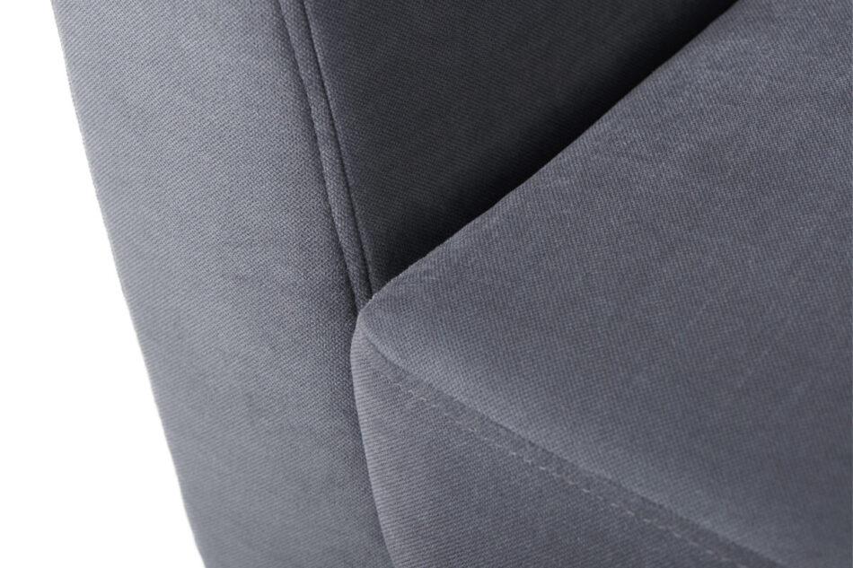 TAGIO Szara skandynawska sofa 3 osobowa szary - zdjęcie 3