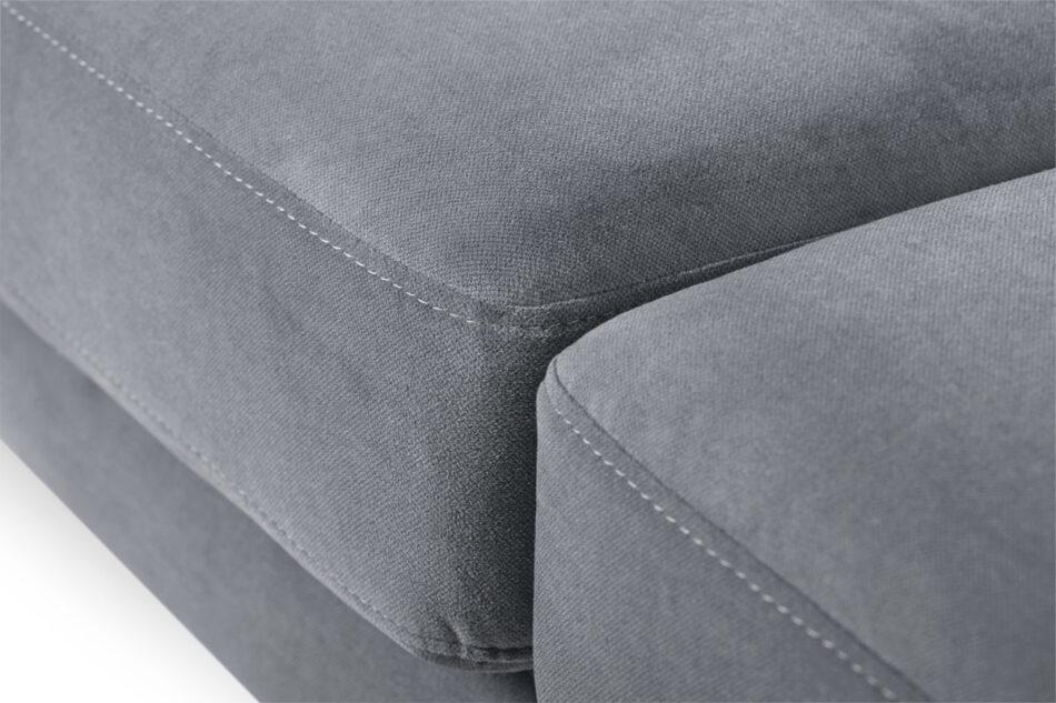TAGIO Szara skandynawska sofa 3 osobowa szary - zdjęcie 5
