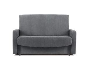 JUFO, https://konsimo.pl/kolekcja/jufo/ Rozkładana kanapa młodzieżowa szara szary - zdjęcie