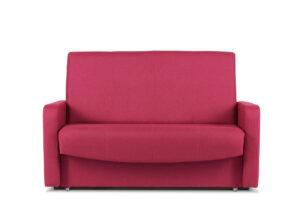 JUFO, https://konsimo.pl/kolekcja/jufo/ Rozkładana kanapa młodzieżowa różowa różowy - zdjęcie
