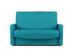 JUFO, https://konsimo.pl/kolekcja/jufo/ Rozkładana kanapa młodzieżowa turkusowa turkusowy - zdjęcie