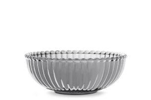 LOVIS, https://konsimo.pl/kolekcja/lovis/ Misa dekoracyjna srebrny - zdjęcie