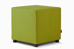 CHOE, https://konsimo.pl/kolekcja/choe/ Kolorowy puf do pokoju dziecka zielony zielony - zdjęcie