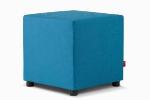 CHOE, https://konsimo.pl/kolekcja/choe/ Kolorowy puf do pokoju dziecka niebieski turkusowy - zdjęcie
