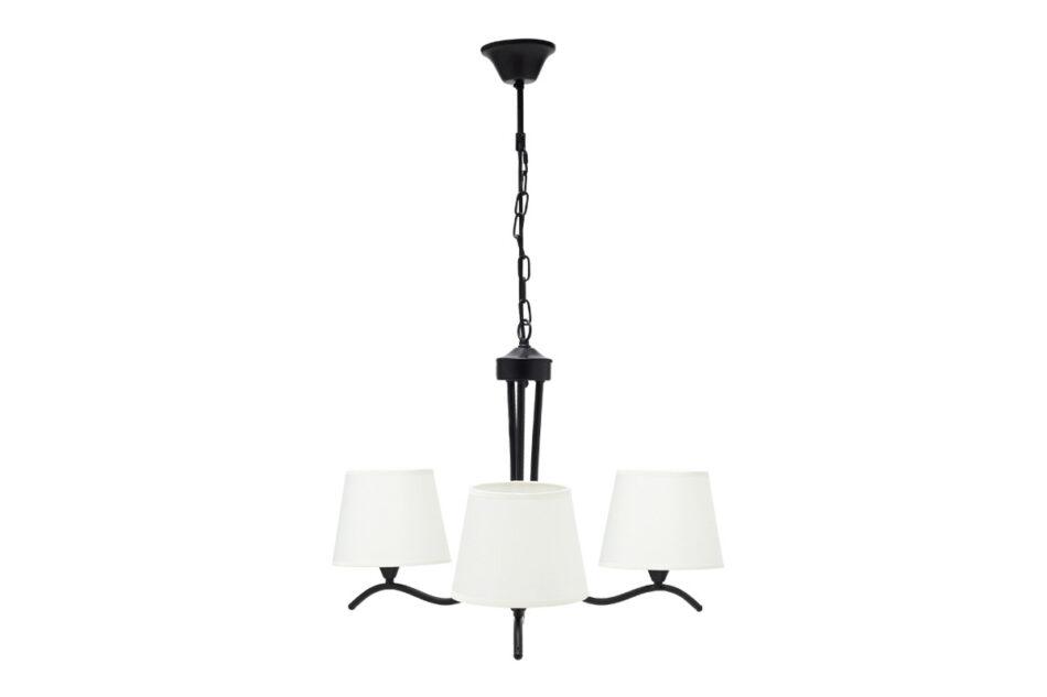 CLARIKA Lampa wisząca czarny/biały - zdjęcie 0