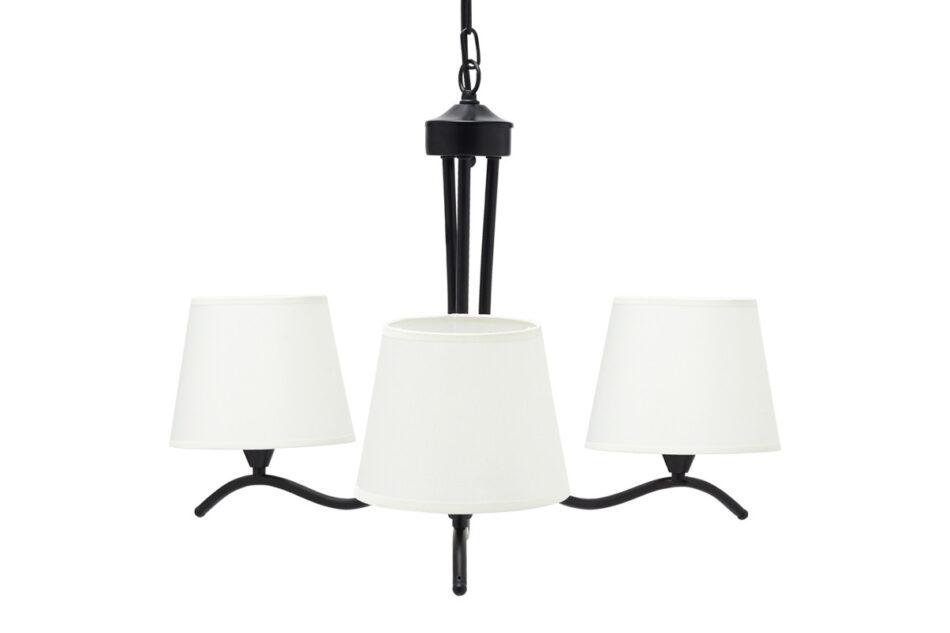 CLARIKA Lampa wisząca czarny/biały - zdjęcie 1