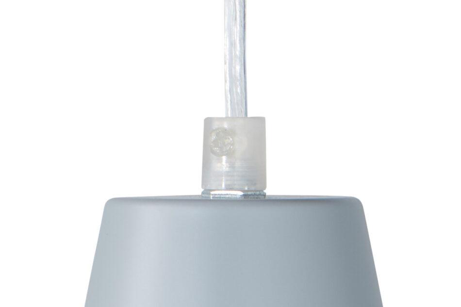 VISCARI Lampa wisząca szary/ matowy - zdjęcie 2