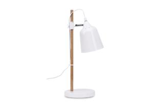 HALI, https://konsimo.pl/kolekcja/hali/ Lampa stołowa biały - zdjęcie