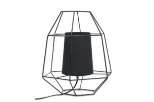 MERLI, https://konsimo.pl/kolekcja/merli/ Lampa stołowa czarny - zdjęcie