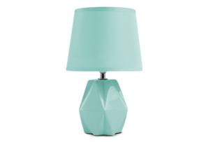 FABO, https://konsimo.pl/kolekcja/fabo/ Lampa stołowa miętowy - zdjęcie