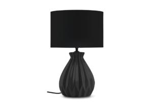 FABO, https://konsimo.pl/kolekcja/fabo/ Lampa stołowa czarny - zdjęcie