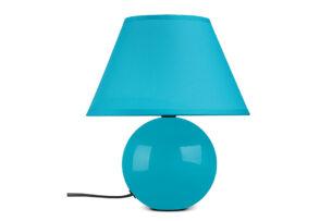 HULAR, https://konsimo.pl/kolekcja/hular/ Lampa stołowa turkusowy - zdjęcie