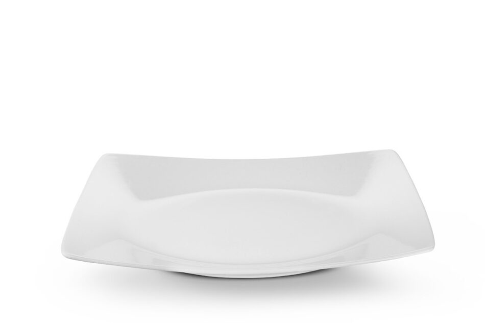 EPIRI Serwis obiadowy kwadratowy 12 elementów biały dla 4 osób biały - zdjęcie 3