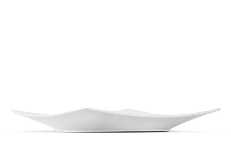 EPIRI Serwis obiadowy kwadratowy 12 elementów biały dla 4 osób biały - zdjęcie 4