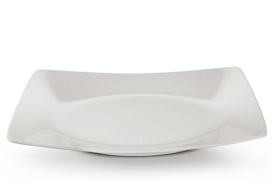EPIRI Serwis obiadowy kwadratowy 12 elementów kość słoniowa dla 4 osób kość słoniowa - zdjęcie 5