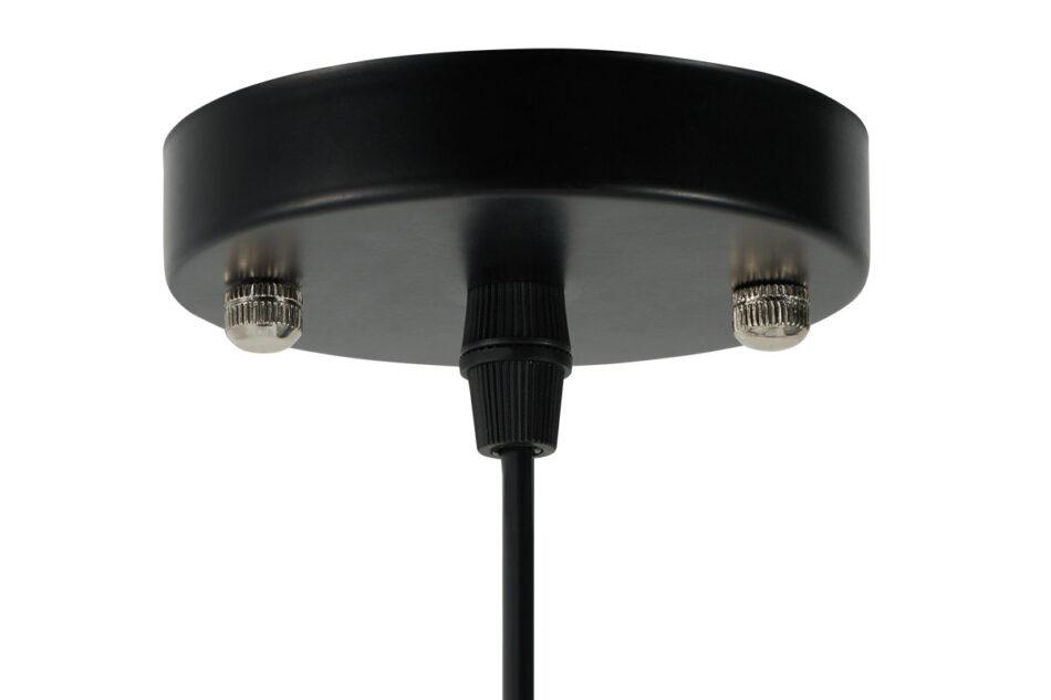 LORAN Lampa wisząca czarny matowy/szary - zdjęcie 2