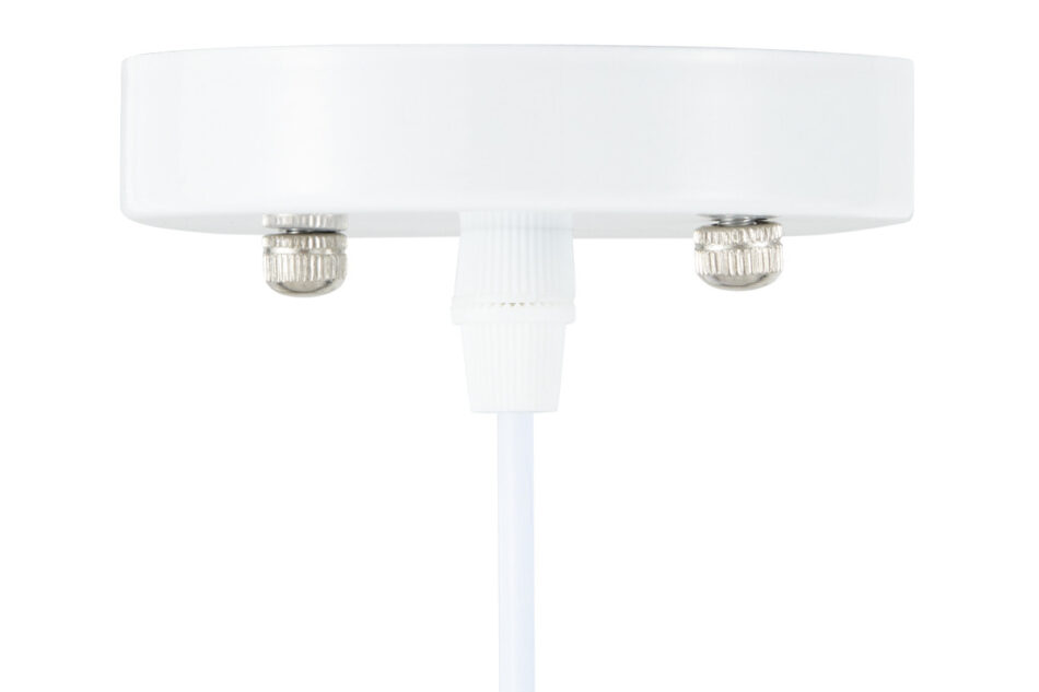 LORAN Lampa wisząca biały matowy/kremowy - zdjęcie 3