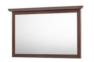 IMPERIO, https://konsimo.pl/kolekcja/imperio/ Duże lustro na ścianę orzech - zdjęcie