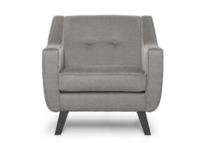 TERSO, https://konsimo.pl/kolekcja/terso/ Skandynawski fotel tkanina plecionka beżowy beżowy - zdjęcie