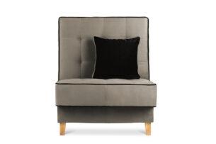 DOZER, https://konsimo.pl/kolekcja/dozer/ Beżowy fotel do pokoju beżowy/brązowy - zdjęcie