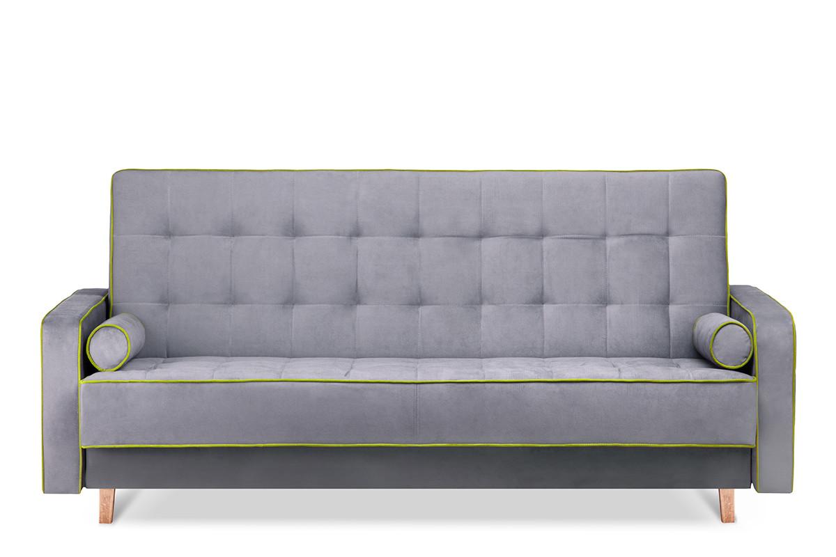 Kolorowa sofa 3 osobowa z funkcją spania