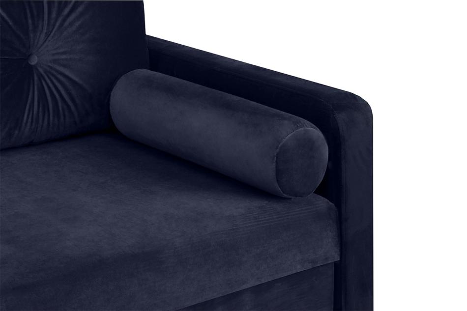 ERISO Granatowa sofa 3 osobowa rozkładana granatowy - zdjęcie 6