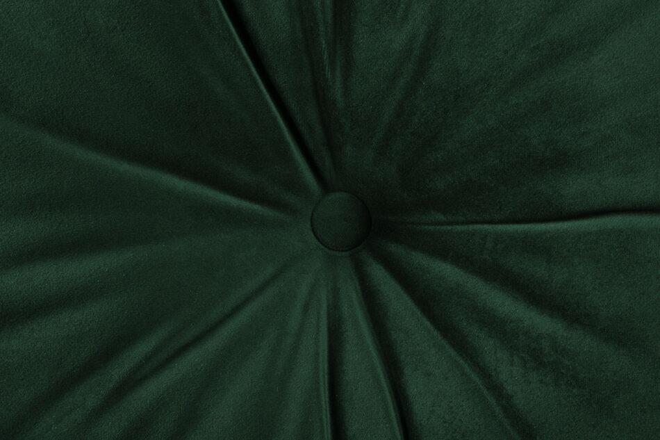ERISO Sofa 3 osobowa rozkładana welur butelkowa zieleń ciemny zielony - zdjęcie 6