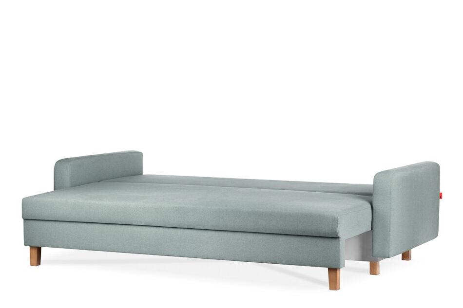 ERISO Zielona sofa 3 osobowa rozkładana miętowy - zdjęcie 2