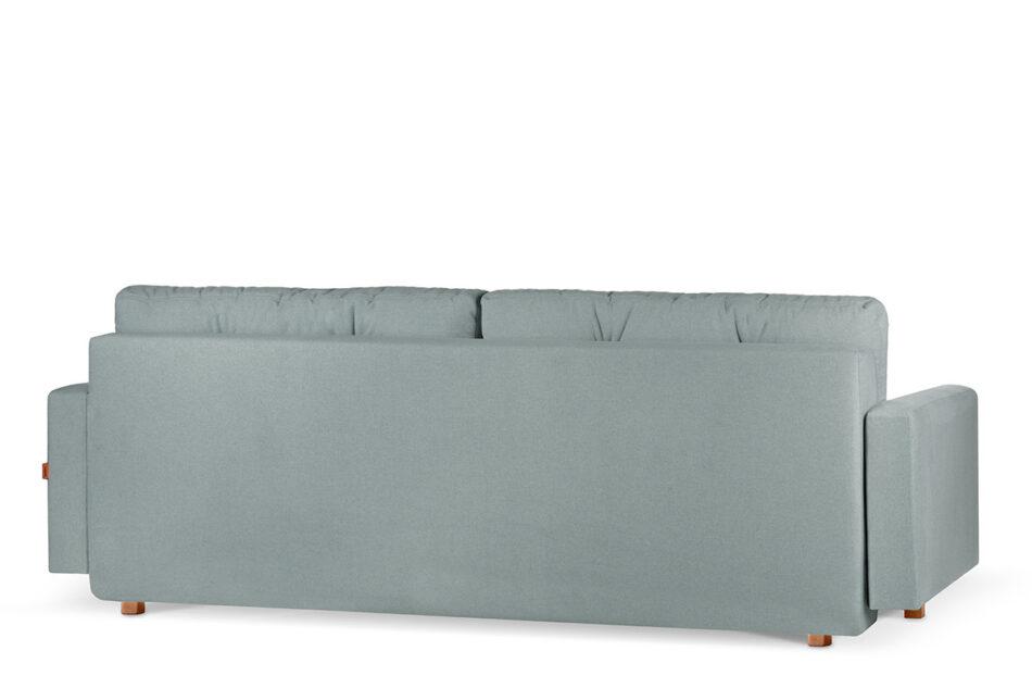 ERISO Zielona sofa 3 osobowa rozkładana miętowy - zdjęcie 4