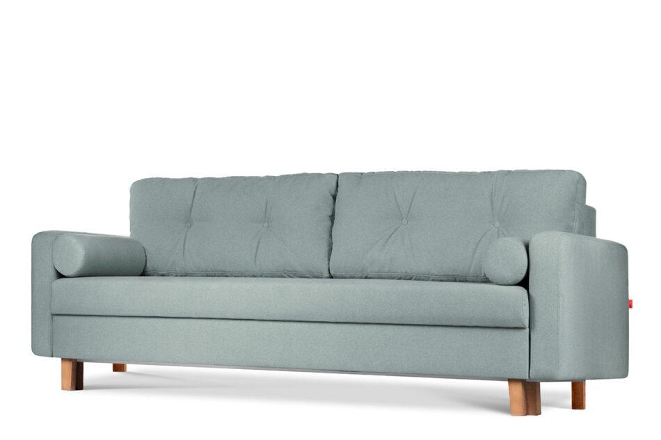 ERISO Zielona sofa 3 osobowa rozkładana miętowy - zdjęcie 3