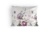 LANIUS Komplet pościeli z bawełny satynowej biały/szary/fioletowy - zdjęcie 2