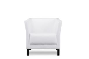 ESPECTO, https://konsimo.pl/kolekcja/especto/ Fotel do poczekalni ekoskóra biały biały - zdjęcie