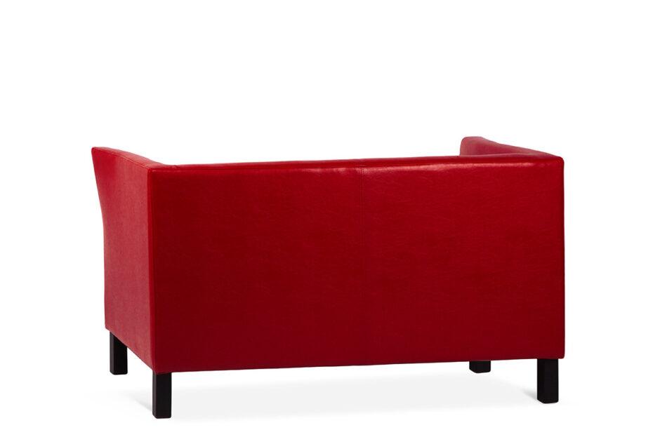 ESPECTO Sofa do poczekalni ekoskóra czerwona czerwony - zdjęcie 2