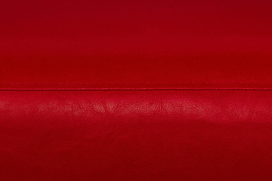 ESPECTO Sofa do poczekalni ekoskóra czerwona czerwony - zdjęcie 4