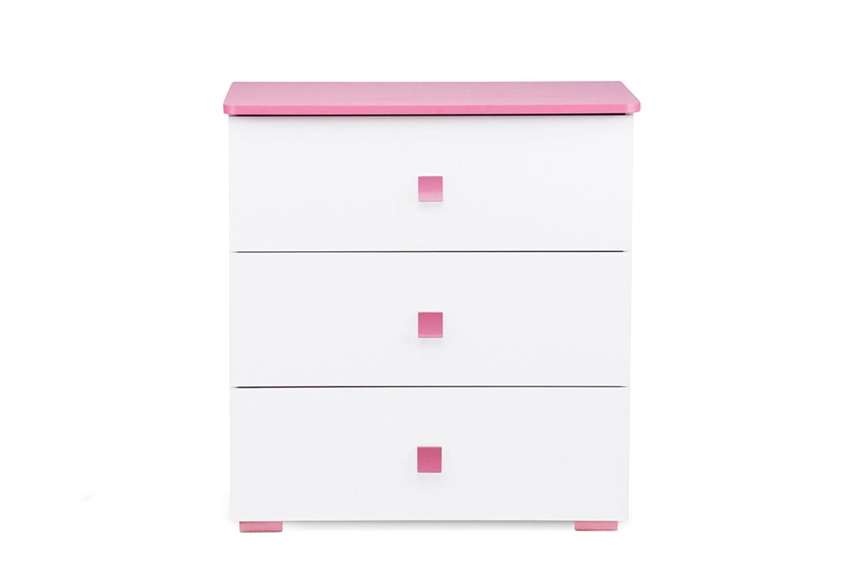 Komoda dla dziewczynki różowa