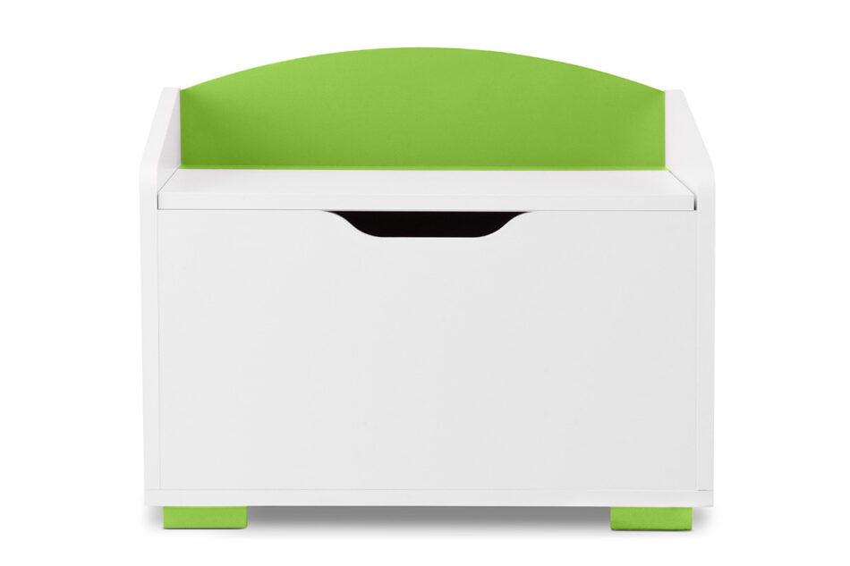 PABIS Kontenerek pod biurko zielony biały/zielony - zdjęcie 0