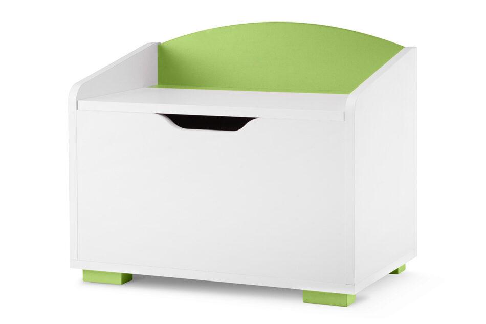 PABIS Kontenerek pod biurko zielony biały/zielony - zdjęcie 1