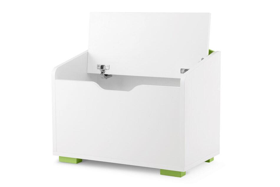 PABIS Kontenerek pod biurko zielony biały/zielony - zdjęcie 2