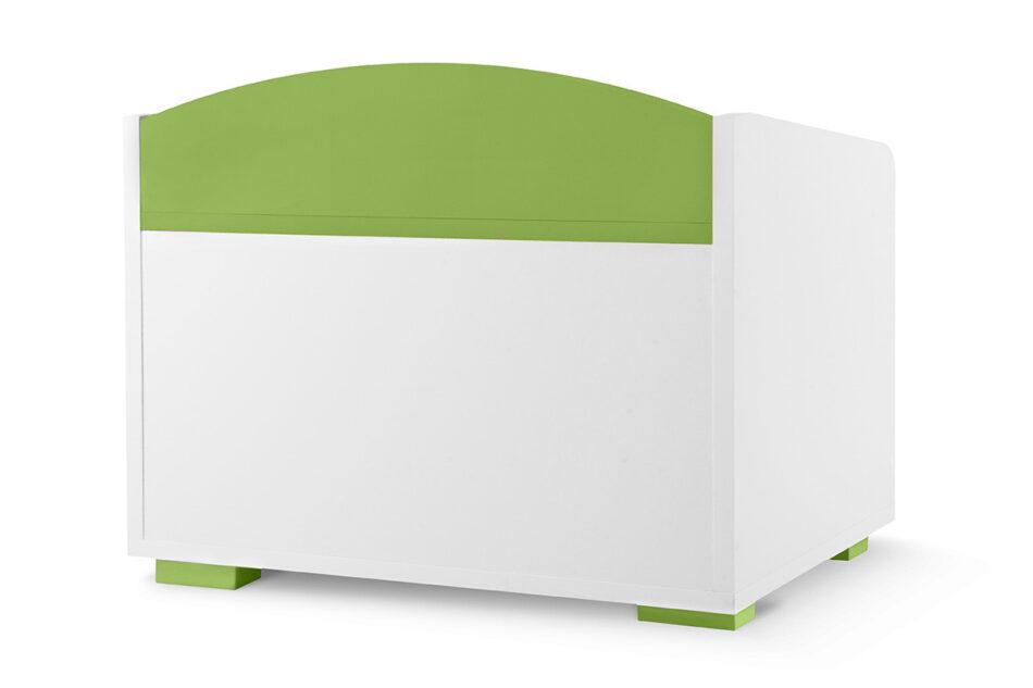 PABIS Kontenerek pod biurko zielony biały/zielony - zdjęcie 3