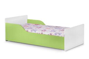 PABIS, https://konsimo.pl/kolekcja/pabis/ Łóżko dla dziecka  zielone zielony/biały - zdjęcie