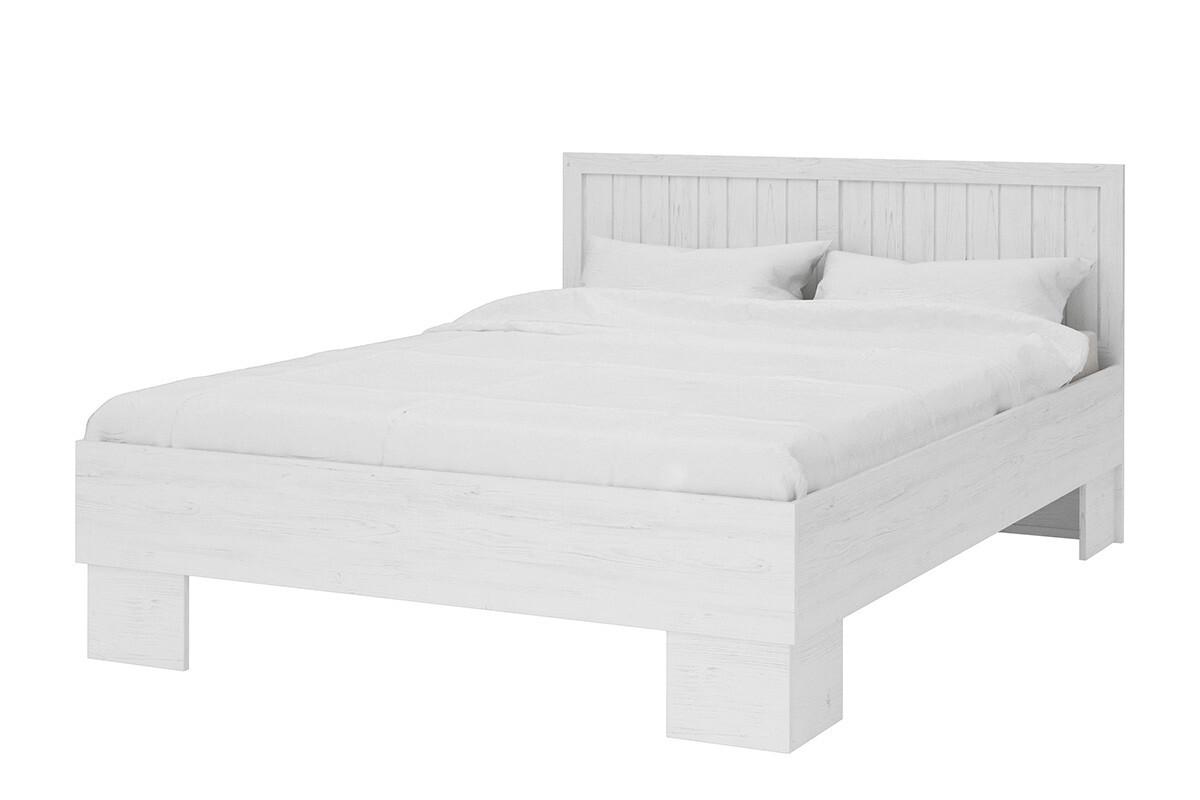 Łóżko 160x200 styl prowansalski białe